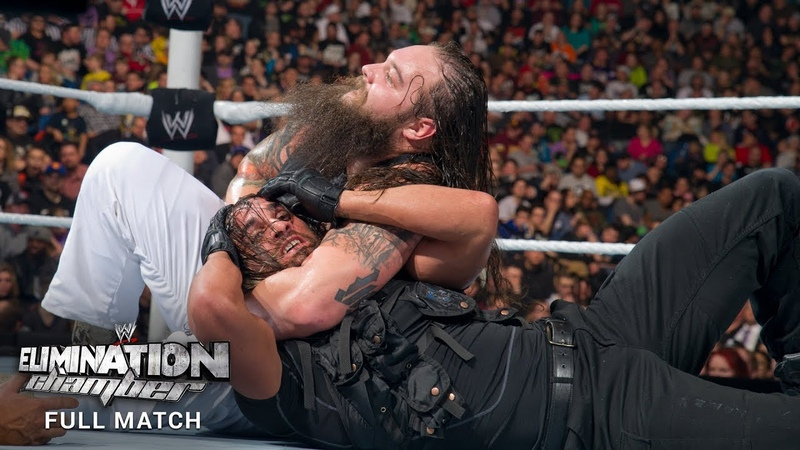 FULL MATCH The Wyatt Family vs The Shield WWE Elimination Chamber 2014 WWE Network Exclusive