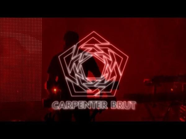 Carpenter Brut - Le Bikini, Toulouse (fr) † Leather Patrol Tour 2018 † [Full Show 4K]