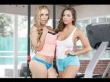Abigail Mac &amp Nicole Aniston - Gym And Juice BigTitsInSports.com  Brazzers.com