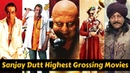 12 Sanjay Dutt Highest Grossing Movies List with Box Office Collection