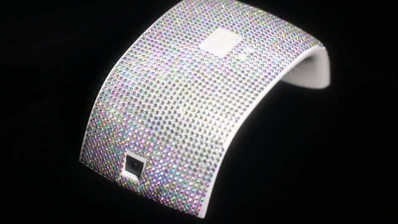 How to make a nail dryer bling bling