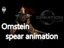 Skyrim mix animation Ornstein Spear motion