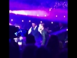 June 23rd Niall, Olly Murs, and Justin Rose performing Slow Hands via perveen_akhtar HoranAndRose