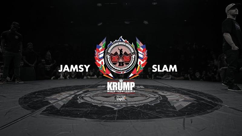 Jamsy vs Slam Male Top 8 EBS 2018