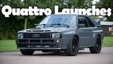 Most Insane Audi Quattro Launches