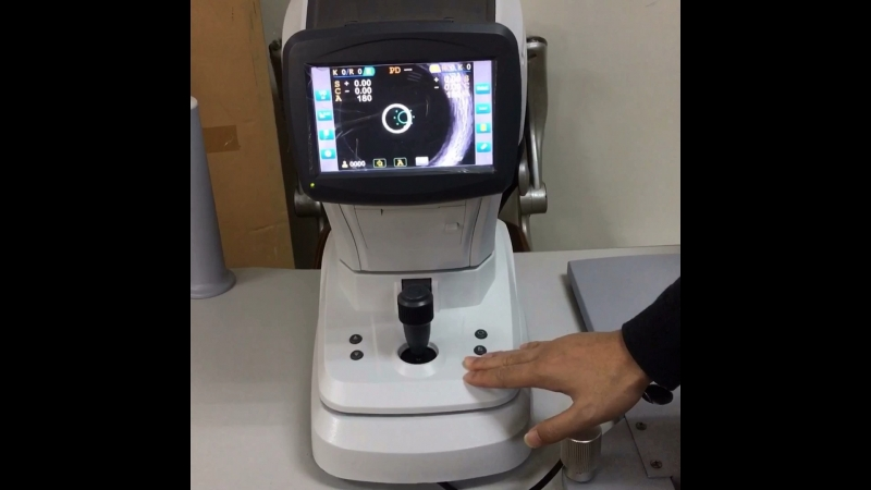 Ref-keratometer KR-9600 brand new model.