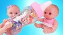 Куклы Пупсики и бутылочка с сюрпризами, мы их открываем Маша и медведь, Щенячий патруль /Зырики ТВ