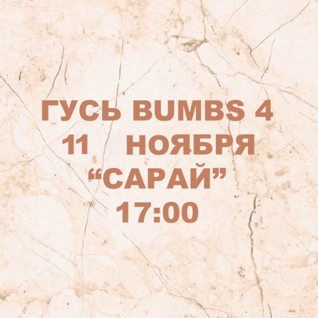 Афиша Ростов-на-Дону Гусь Bumbs4 11.11