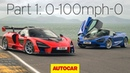 McLaren Senna vs 720S Part 1 0 100mph 0 Autocar