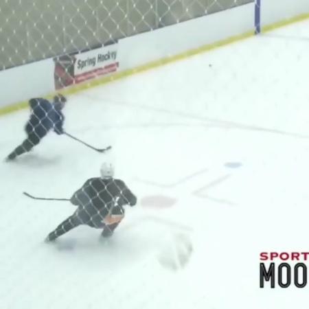 "Pavel Barber on Instagram: ""RareDanglesPB Alert!  @mackinnon29 Crosby competing in 1 on 1 drills in HALIFAX. (Video Source: @sportsandmoore)"""