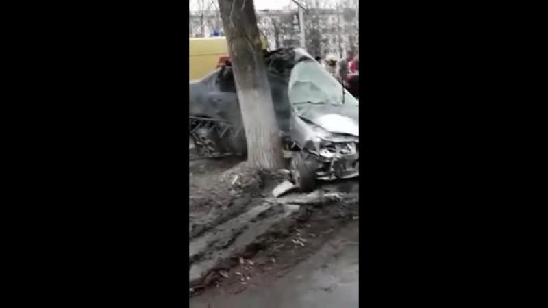 Врезался в Дерево Нефтекамск 22.04.2018