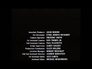 Movie end credits #811 little big league