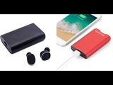 Обзор и мнение о наушниках-повербанке Alfawise Mini True Wireless Bluetooth 5.0 Earphones