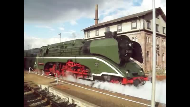18201 die schnellste betriebsfähige Dampflok der Welt