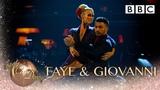 Faye Tozer &amp Giovanni Argentine Tango to 'La Cumparsita' by Machiko Ozawa - BBC Strictly 2018