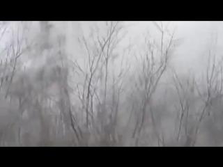Расстрел многоэтажки из танка. Углегорск