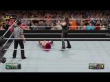 WWE 2K17 - WRESTLEMANIA - Sasha Banks vs Stephanie McMahon