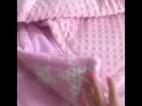Творческая-Мастерская Натальи Поповой двустороннее одеялко с плюшем и Зайка-сплюшка