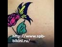 Бикини дизайн Glitter tattoo in the groin Косметолог Ольга Баскакова СПб