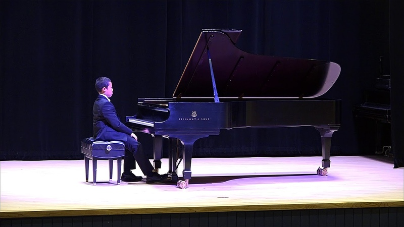 2018-2019 MTNA Student Competitions: Robert Johnston, NJ (Junior Performance - Piano)