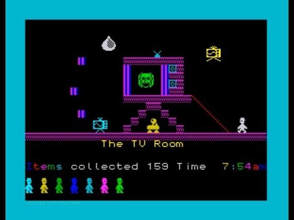 Jet Set Willy 128K Walkthrough, ZX Spectrum