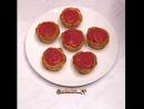 Корзиночки с творожно-ягодной начинкой