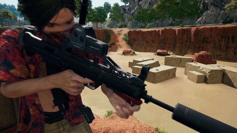 PC 1.0 update 15 New weapon - QBZ