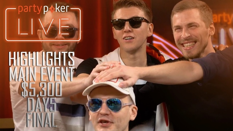 HighLights $5,300 Main Event FINAL MILLIONS RUSSIA Sochi