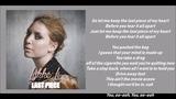 Lykke Li - Last Piece (Lyric video)