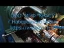 Вал шестерня на кран манипулятор Канглим 1256
