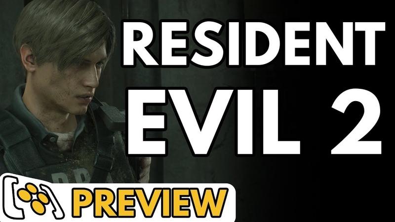 Превью ремейка Resident Evil 2 | Леон и Клэр [4K]