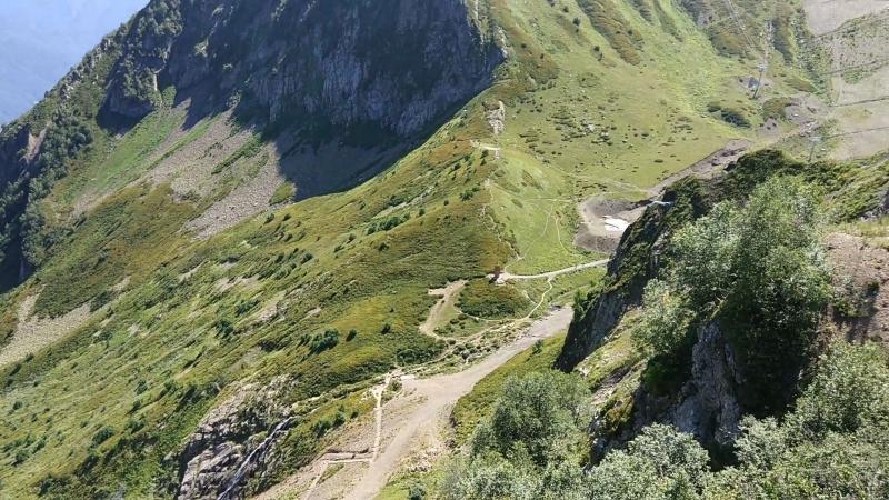 Канатная дорога на Чёрную Пирамиду Кавказ одна из 8 ми