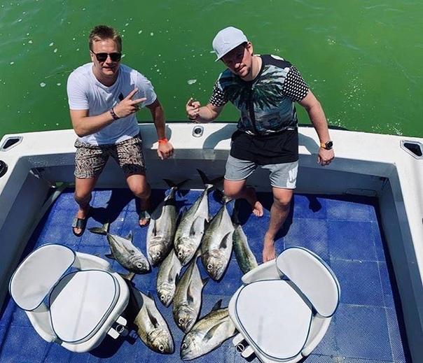 Андрюшечка Макаров: Удачный был день для рыбалки 🐠🐟 с vishy9999 👌😉