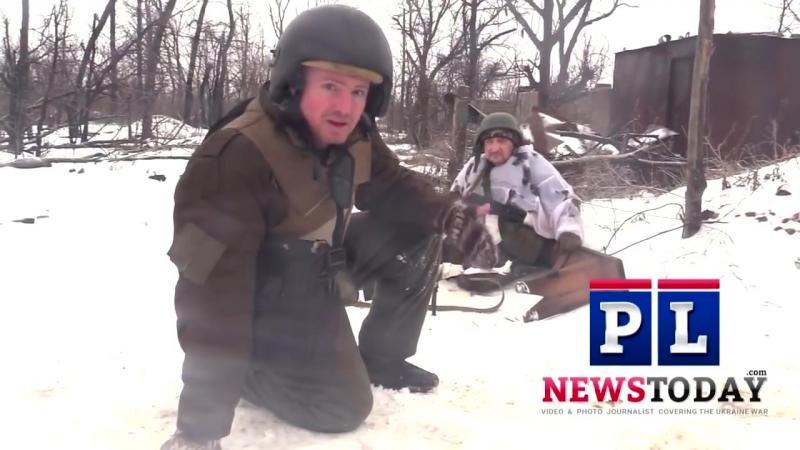 Украинская война_ на передовой со снайперами ДНР