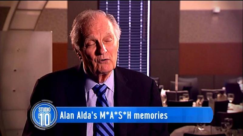 Alan Aldas M*A*S*H Memories | Studio 10