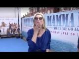 Meryl Streep . Premiere Mamma Mia_ Here we go again
