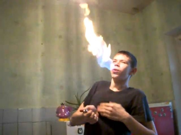 Я - Дракон (как дышать огнём).AVI