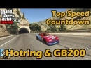 Broughy1322 Fastest Sports Cars Hotring Sabre GB200 - GTA 5 Best Fully Upgraded Cars Top Speed Countdown