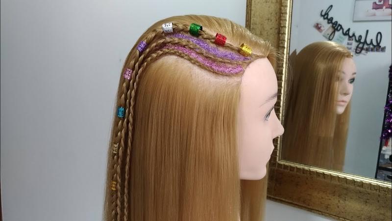 Cornrows Braids Hairstyles / Trenzas Africanas by Belleza sin Limites