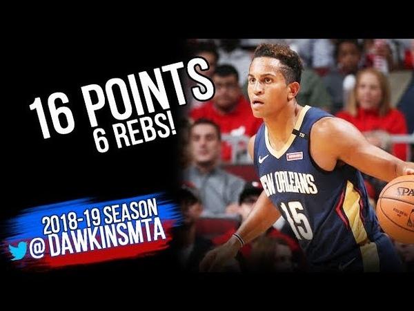 Frank Jackson Full Highlights 2018.09.30 Pelicans vs Bulls - 16 Pts, 6 Rebs!   FreeDawkins