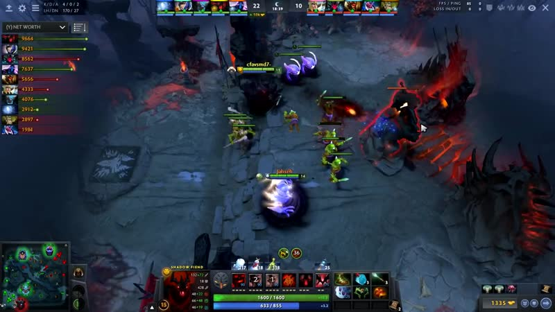 Miracle Shadow Fiend The Razing Maestro EPIC Gameplay Compilation Dota 2