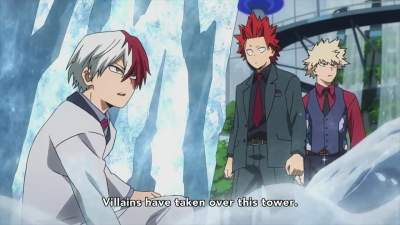 Here you go! A subbed sneak peek at MyHeroAcademia Two Heroes!!