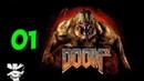 Прохождение Doom 3 BFG Edition. Часть 1. Зомбари в стенах!