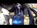 Окраска бампера BMW E90