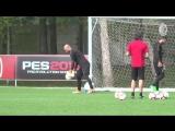 Another day in training for the Rossoneri ️ - Unaltra giornata di allenamenti per i rosson