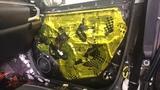 Toyota Hilux шумоизоляция отменного качества вызывает на лице автовладельца довольную улыбку