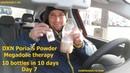 DXN Poria S Powder Megadose therapy: 10 bottles in 10 days - day 7