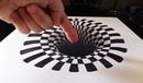 Cómo dibujar un INCREÍBLE agujero/hoyo 3D | How to draw a 3D hole | ILUSIÓN ÓPTICA ANAMÓRFICA 3D