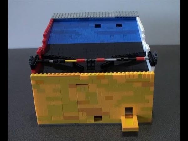 Автомат для игры в футбол (Самоделки из Лего)