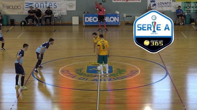 Italy League - Round 3 - Real Futsal Arzignano 4x3 Lazio C5